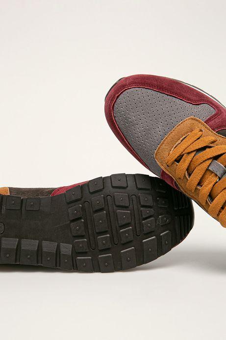 Buty męskie ze skóry zamszowej