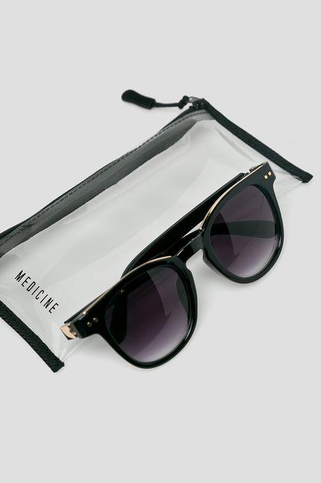 Okulary przeciwsłoneczne damskie czarne