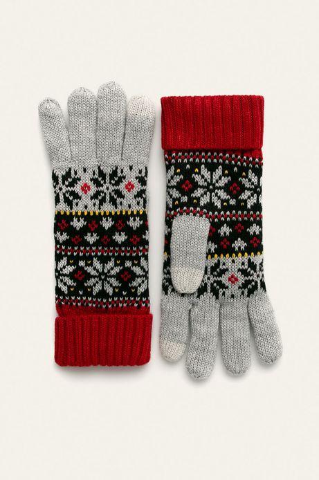 Rękawiczki damskie wzorzyste