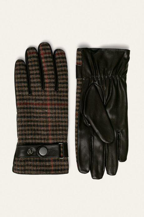 Rękawiczki męskie brązowe