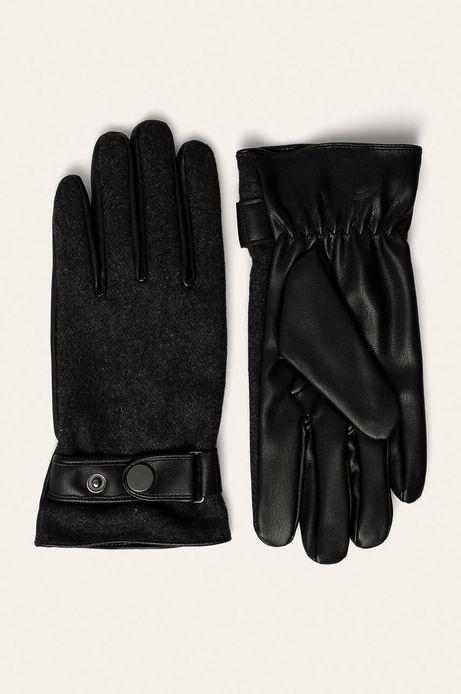 Rękawiczki męskie szare