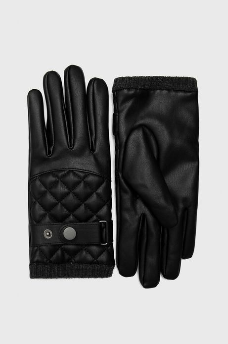 Rękawiczki męskie czarne