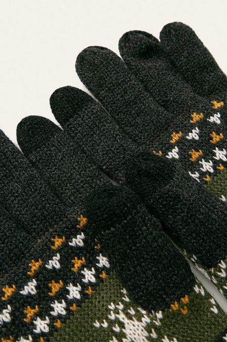 Rękawiczki męskie wzorzyste