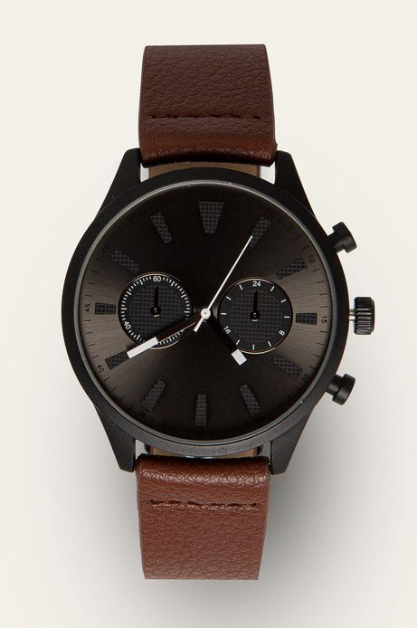 Zegarek męski brązowy