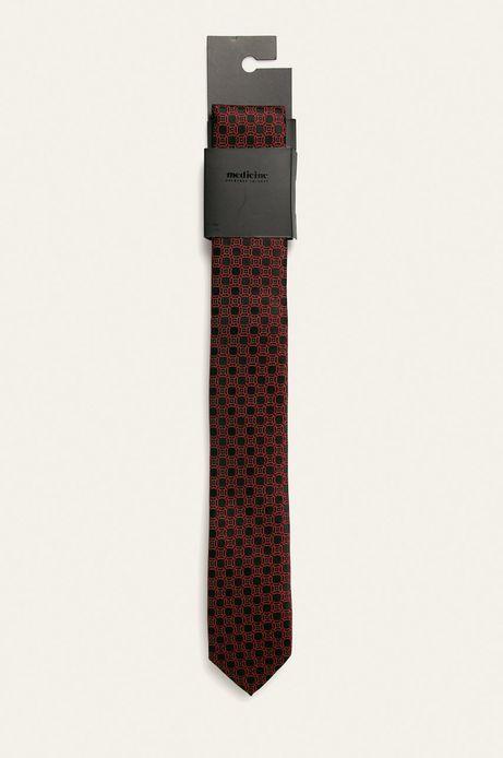 Krawat męski czarny