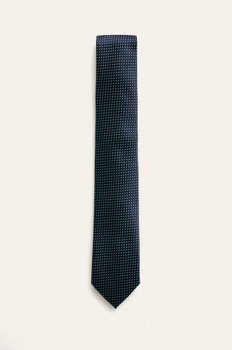 Krawat męski granatowy