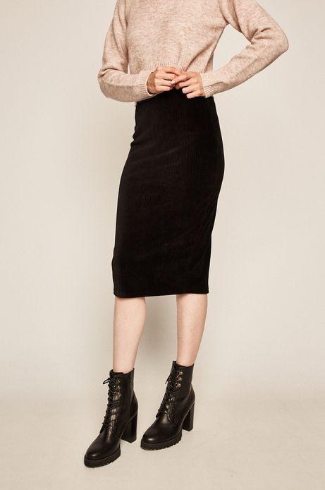 Spódnica damska ołówkowa czarna