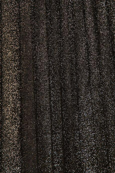 Spódnica z warstwą tiulu srebrna