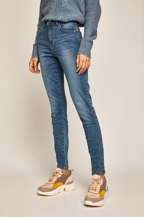 Jeansy damskie niebieskie