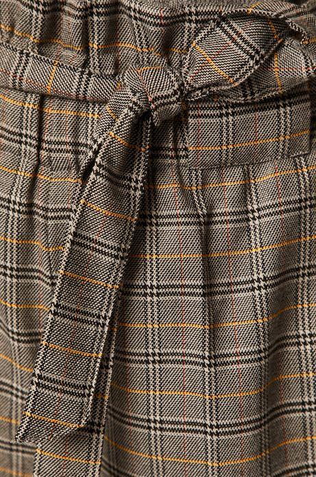 Spodnie damskie z podwyższonym stanem