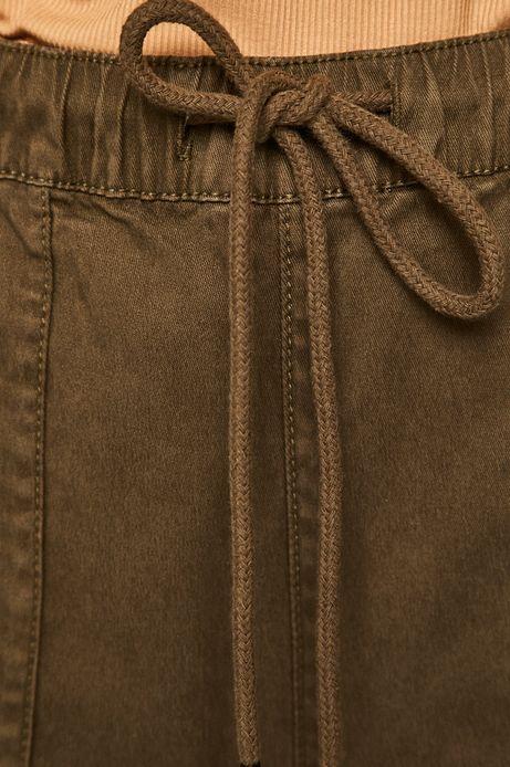 Spodnie damskie zielone