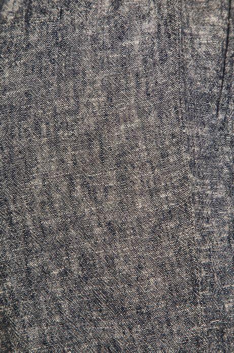 Spodnie damskie lniane niebieskie