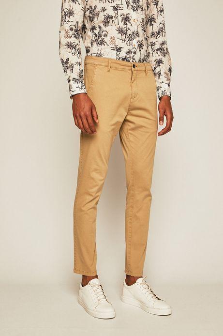 Spodnie męskie beżowe