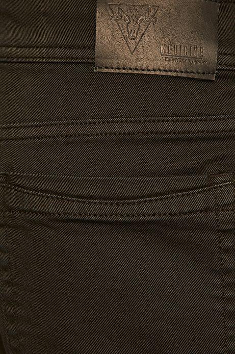 Spodnie męskie tapered czarne