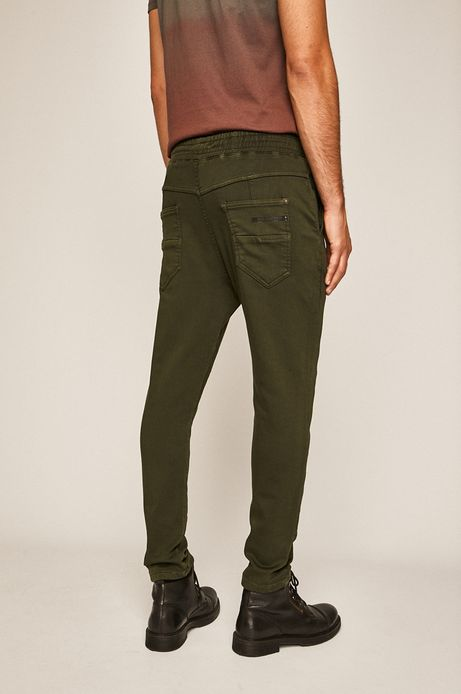 Spodnie męskie zielone