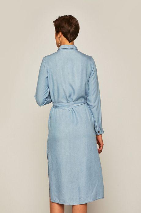 Sukienka damska niebieska