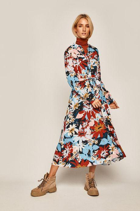 Sukienka damska w kwiaty