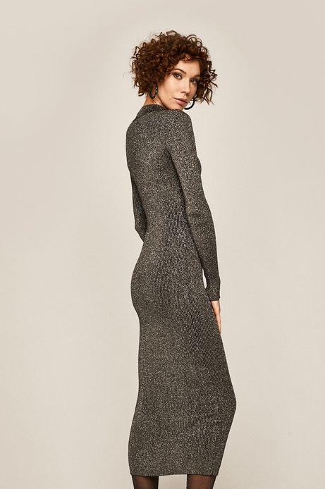 Sukienka damska ołówkowa czarna
