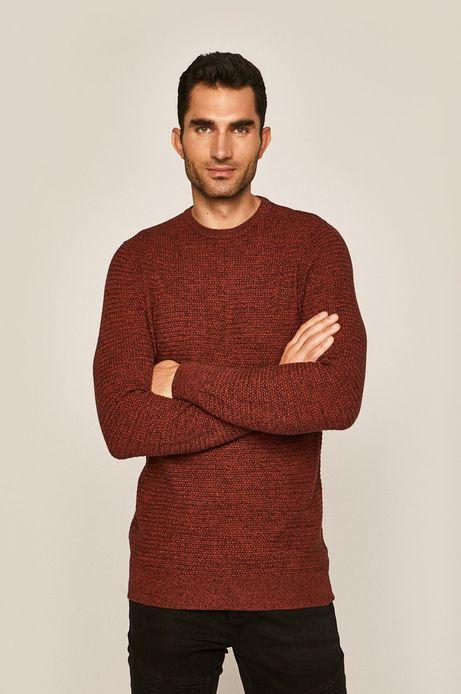 Sweter męski czerwony