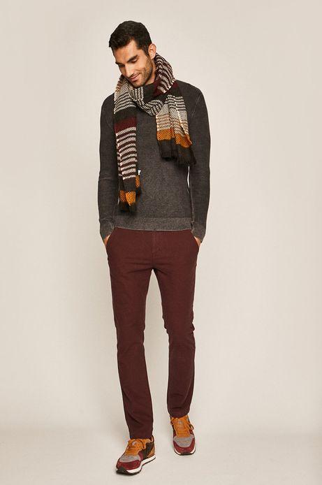 Sweter męski szary