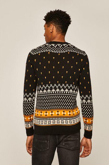 Sweter męski Music Wall czarny
