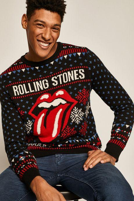 Sweter męski Music Wall granatowy