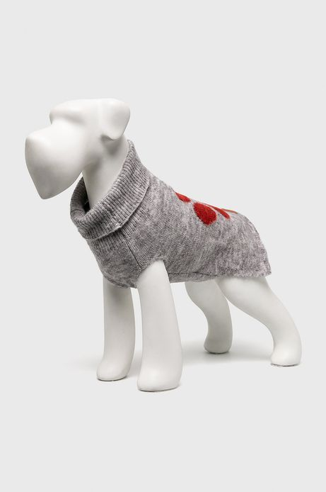 Sweter dla pupila szary