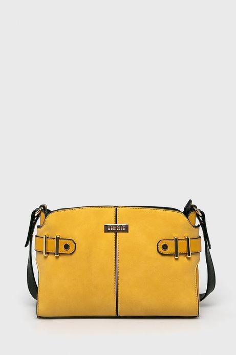 Torebka damska do noszenia na ramieniu żółta