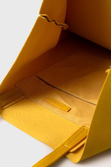 Torebka damska żółta