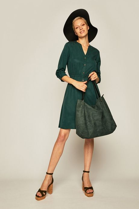 Torebka damska zielona