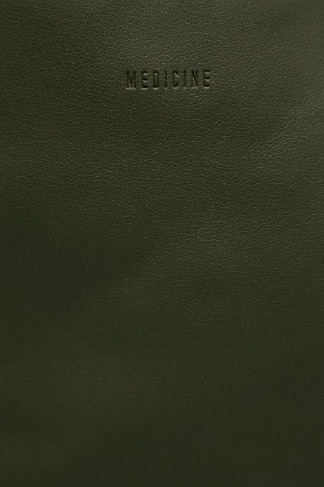 Torebka damska z motywem moro zielona