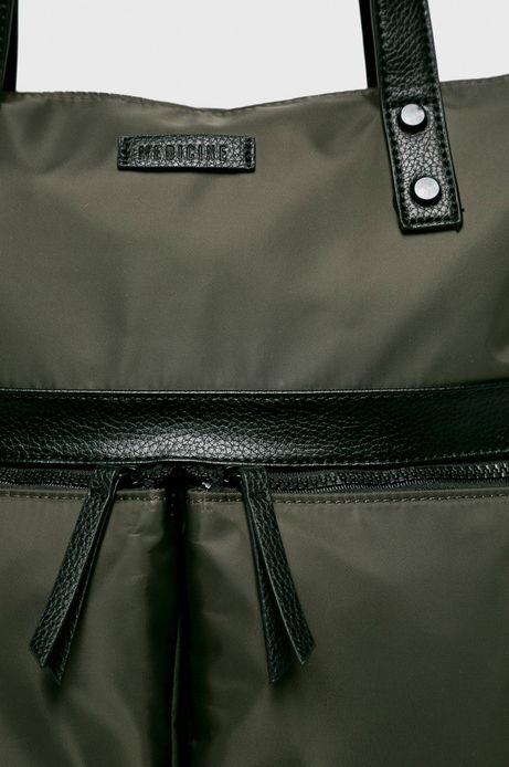 Torebka damska z funkcją plecaka zielona