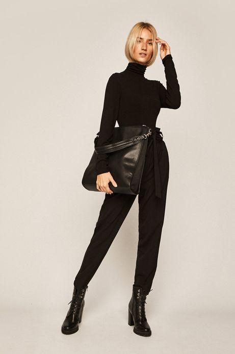 Duża torebka damska czarna