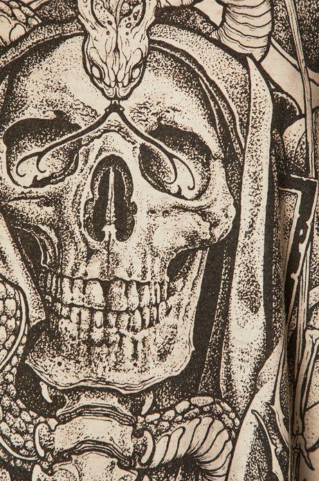 Top damski by Mariusz Romanowicz, Tattoo Konwent szary
