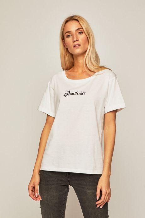T-shirt damski by Agata Morzyk, Tattoo Konwent biały