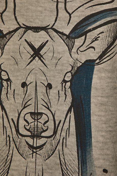 T-shirt damski by Fat Kat, Tattoo Konwent szary