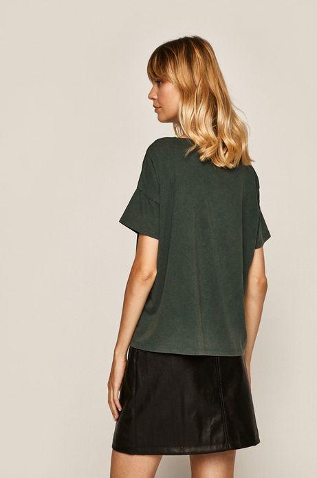 T-shirt damski by Lenka Šimečková zielony