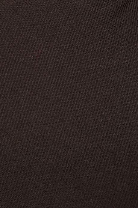 Bluzka damska z półgolfem czarna