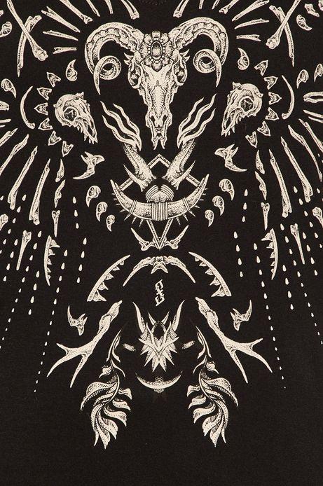T-shirt damski Halloween by Paulina Czak czarny