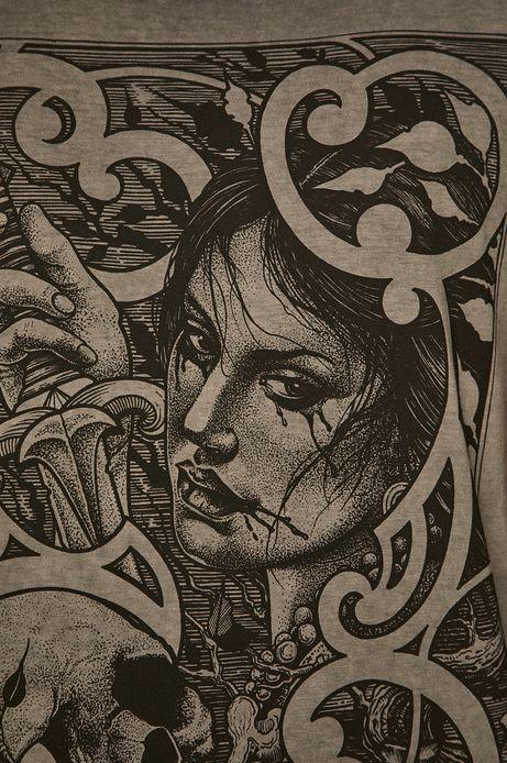 T-shirt męski by Mariusz Romanowicz, Tattoo Konwent szary