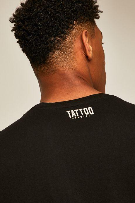 T-shirt męski by Konrad ibn Kondrat, Tattoo Konwent czarny
