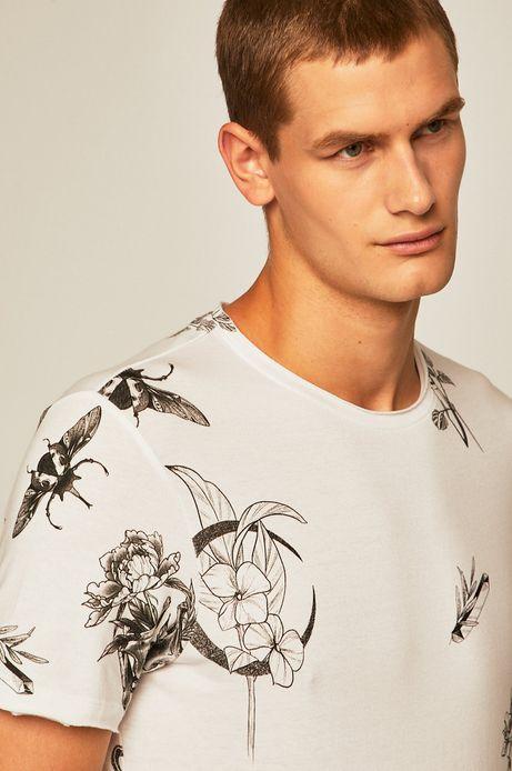 T-shirt męski by Agata Morzyk, Tattoo Konwent biały