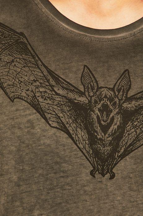 T-shirt męski by Weronika Kolinska szary