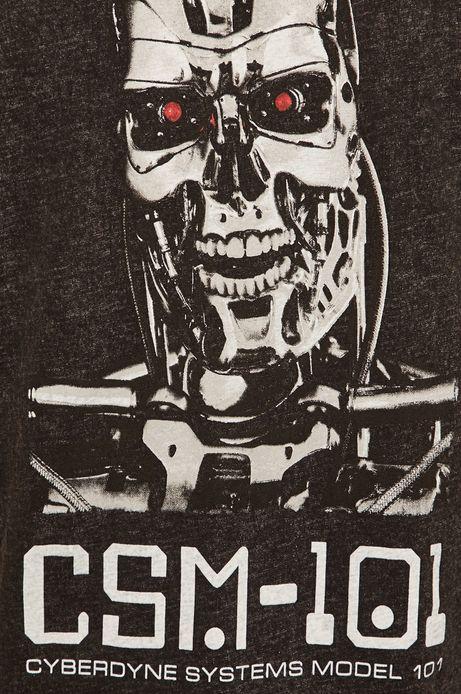 T-shirt męski Movies czarny