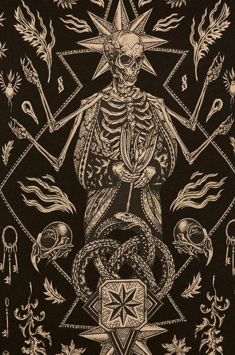 T-shirt męski Halloween by Paulina Czak czarny