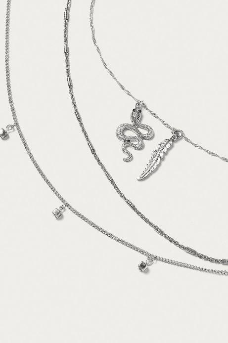 Naszyjnik damski srebrny (3-Pack)