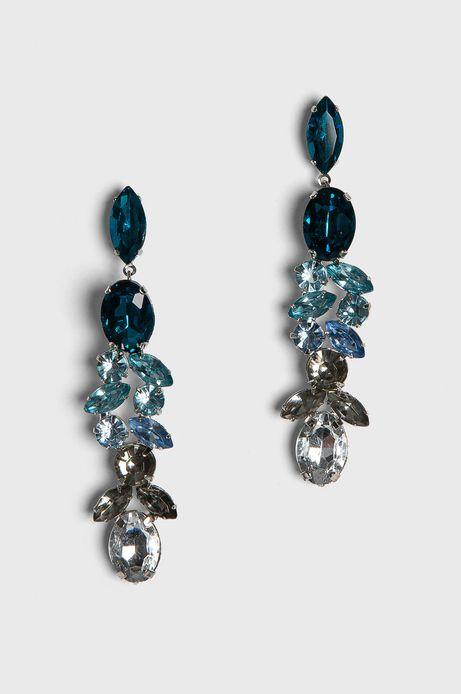 Kolczyki damskie z kryształkami