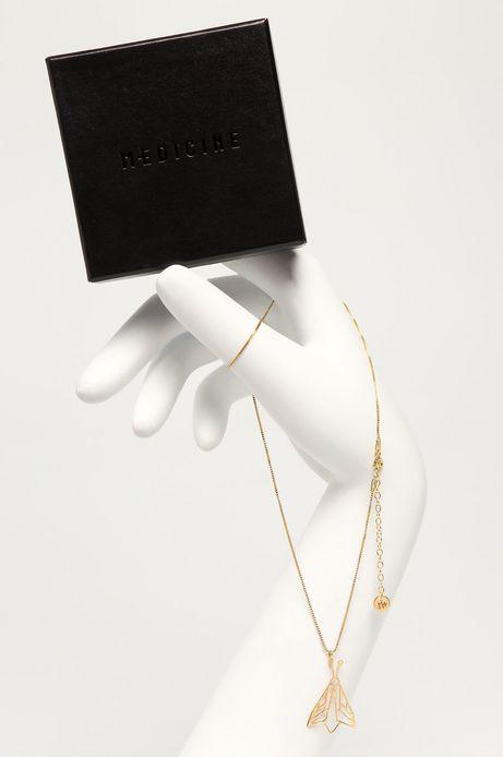 Pozłacany naszyjnik damski ze srebra z kolekcji specjalnej