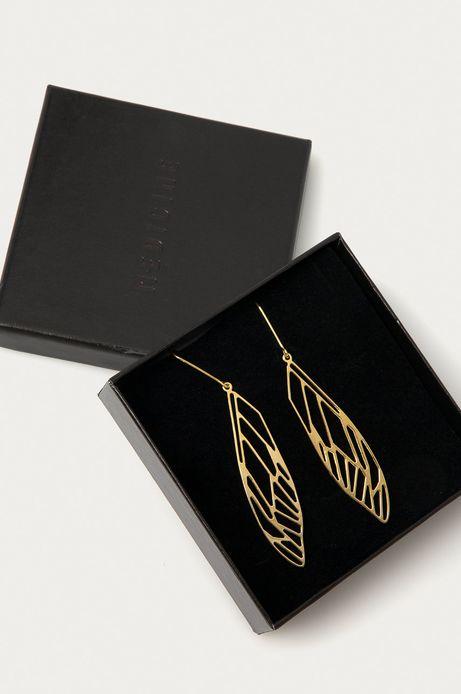 Pozłacane kolczyki damskie ze srebra z kolekcji specjalnej