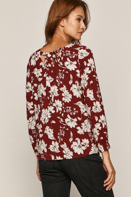 Bluzka damska  z wiązaniem na plecach